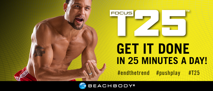 shaun T focus T-25 basic set Beachbody