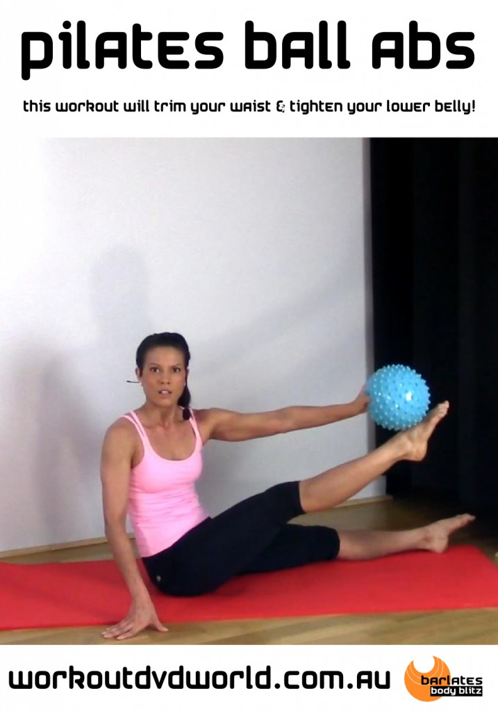 Pilates And Video And Ball 28