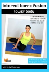 Interval Barre Fusion Lower Body DVD