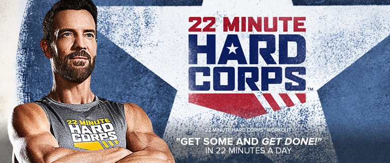 Team Beachbody Tony Horton 22 Minute Hard Corps DVDs AUSTRALIA and