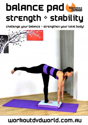 Balance Pad Strength and Stability DVD