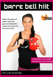 Barre Bell HIIT 3 Workout DVD