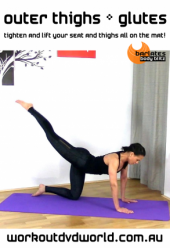 Outer Thighs and Glutes DVD
