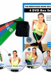 The Resistance Band Solution 4 DVD set