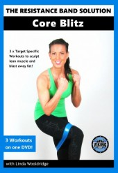 The Resistance Band Solution Core Blitz DVD