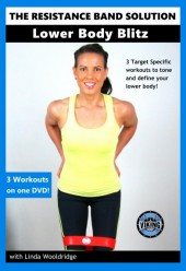 The Resistance Band Solution Lower Body Blitz DVD