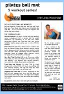 Barlates Body Blitz Pilates Ball Mat Series Download with Linda Wooldridge