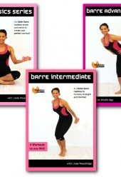 Barre Basics, Intermediate & Advanced 3 DVD bundle