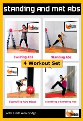 Standing and Mat Abs 4 workout DVD