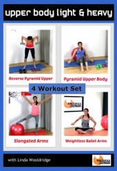 Upper Body Light and Heavy 4 workout DVD