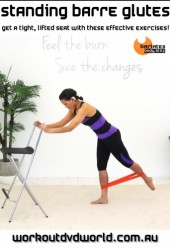 Standing Barre Glutes DVD