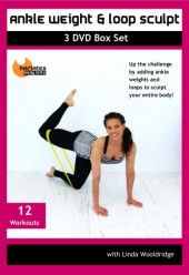 Ankle Weight and Loop Sculpt 12 Workout DVD SET