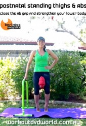 Postnatal Standing Thighs and Abs DVD