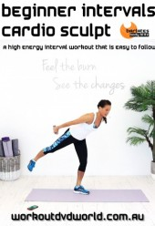 Beginner Intervals Cardio Sculpt DVD