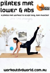 Pilates Mat Lower and Abs DVD