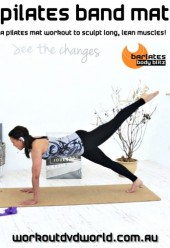 Pilates Band Mat DVD