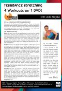 Barlates Body Blitz Resistance Stretching Series 4 Workout DVD with Linda Stejskal