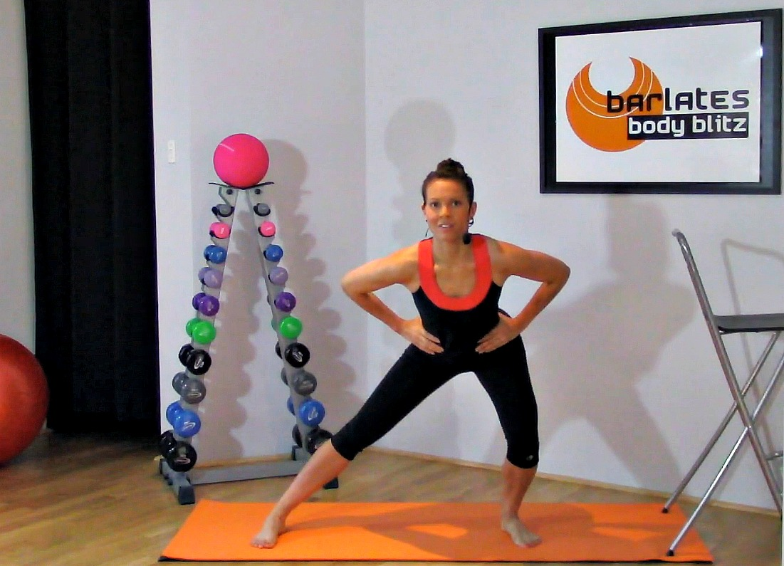 Barlates Body Blitz Lunge Variations Download