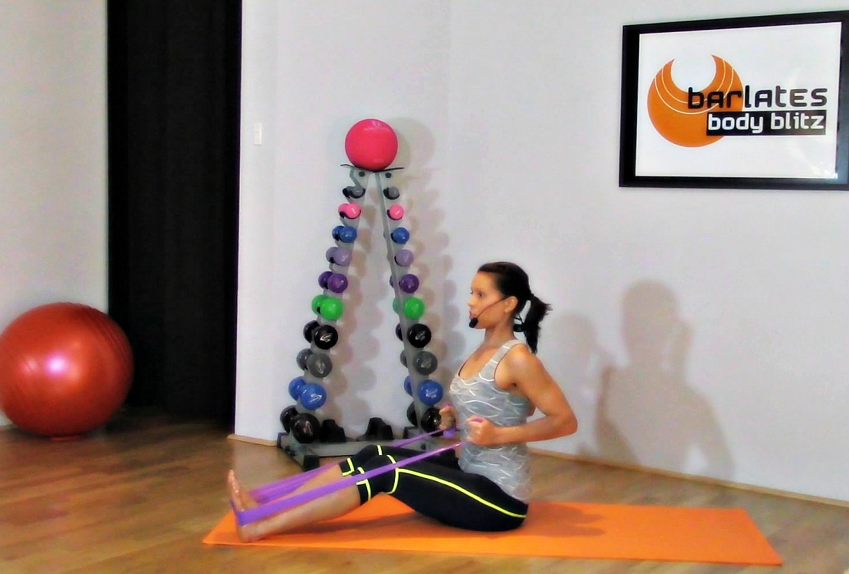 Barlates Body Blitz Upper Body with Resistance Band